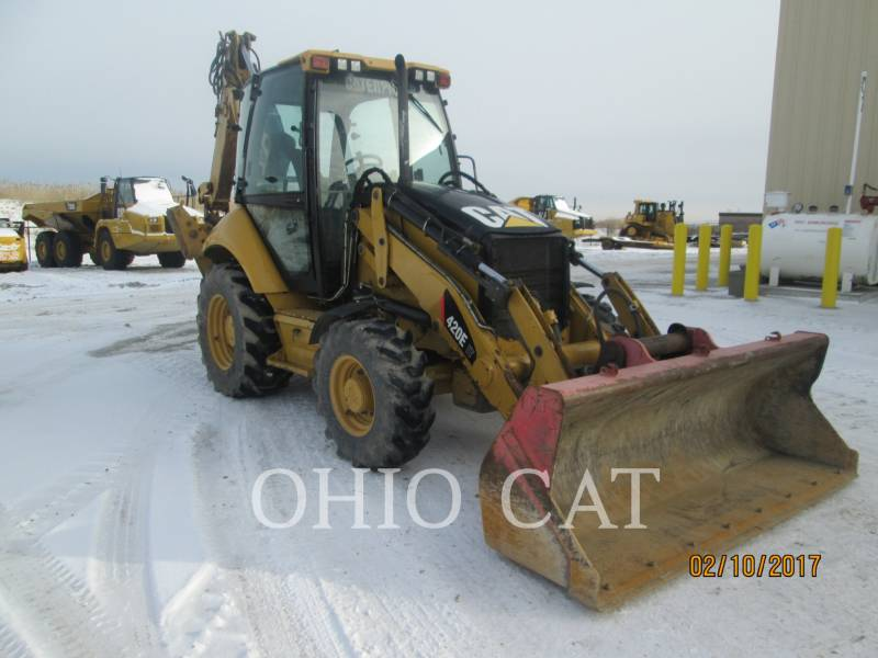 CATERPILLAR BAGGERLADER 420E IT equipment  photo 3
