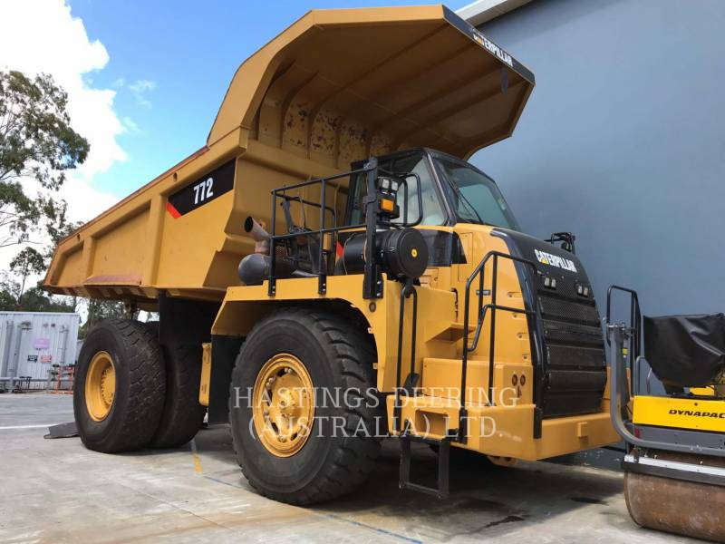 CATERPILLAR ダンプ・トラック 772 equipment  photo 1