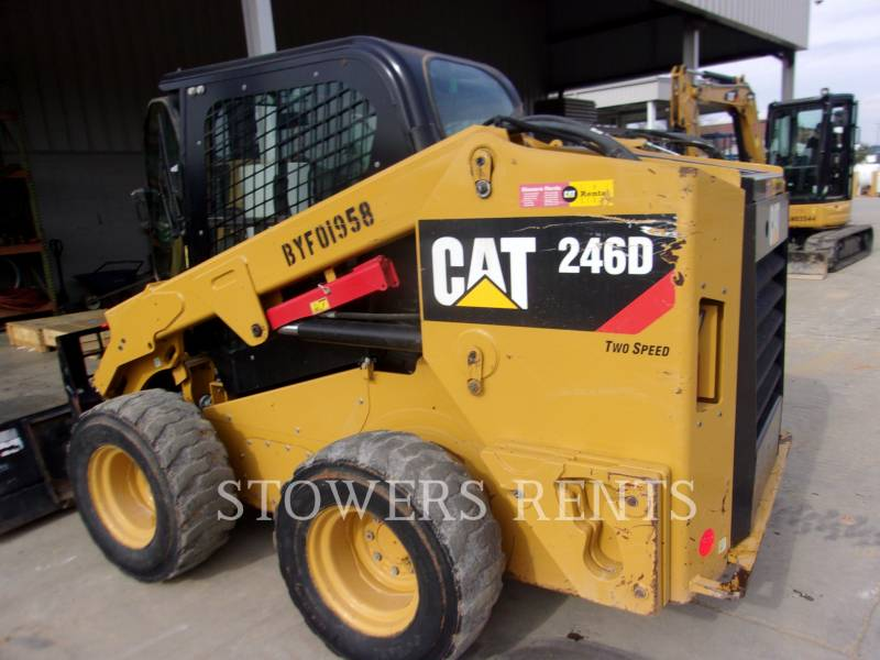 CATERPILLAR SKID STEER LOADERS 246D CAB equipment  photo 5