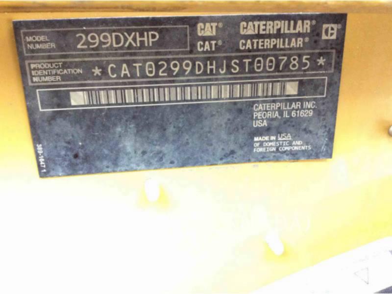 CATERPILLAR CHARGEURS TOUT TERRAIN 299D equipment  photo 11