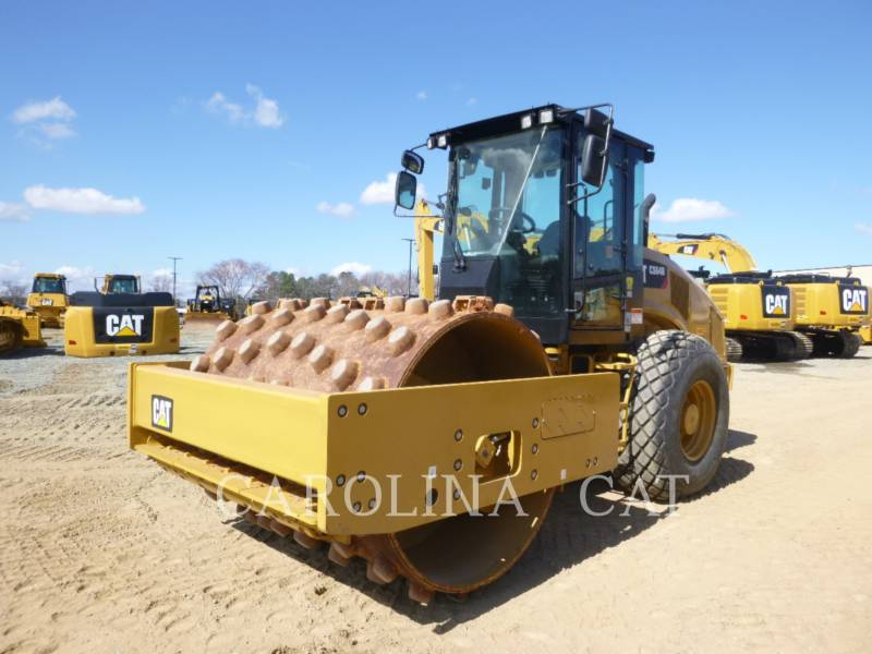 CATERPILLAR VIBRATORY SINGLE DRUM SMOOTH CS64B equipment  photo 6