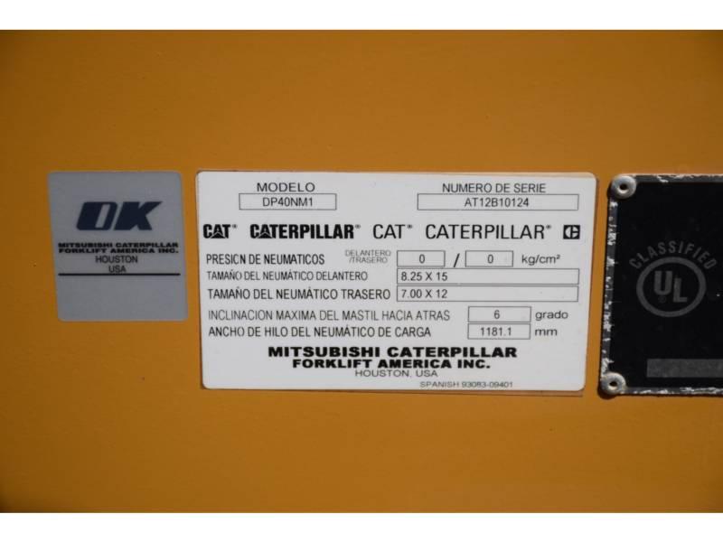 CATERPILLAR FORKLIFTS DP40NM1 equipment  photo 5