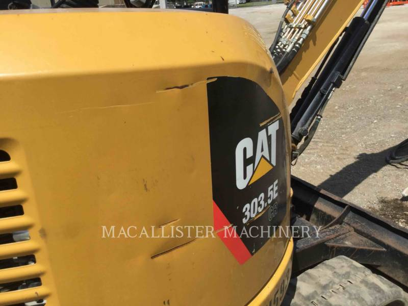 CATERPILLAR KOPARKI GĄSIENICOWE 303.5ECR equipment  photo 8