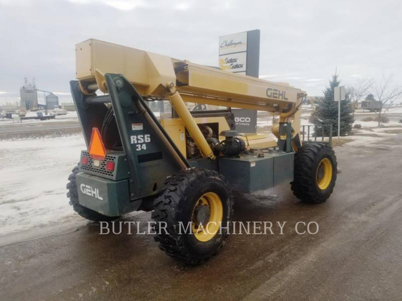 GEHL COMPANY TELEHANDLER RS6-34 equipment  photo 4