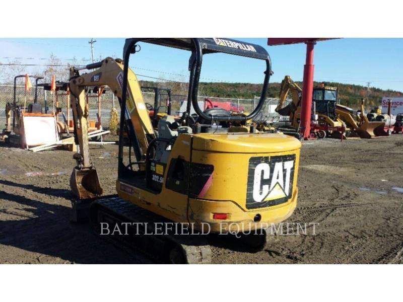 CATERPILLAR PELLES SUR CHAINES 302.5C equipment  photo 2