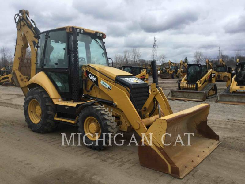 CATERPILLAR BAGGERLADER 430FST equipment  photo 1