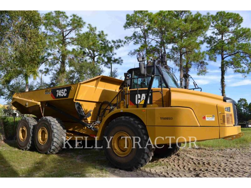 Caterpillar CAMIOANE ARTICULATE 745C equipment  photo 5