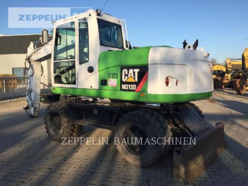 CATERPILLAR PELLES SUR PNEUS M313D equipment  photo 1