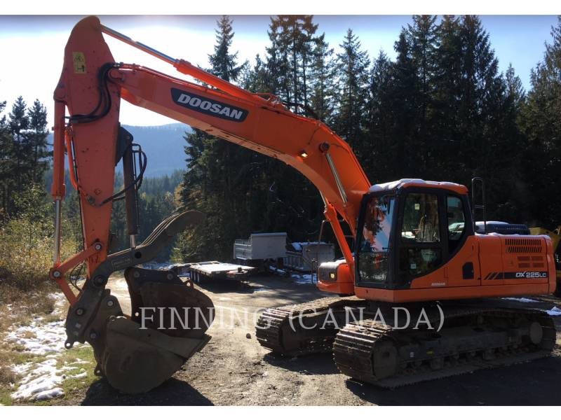 DOOSAN INFRACORE AMERICA CORP. KOPARKI GĄSIENICOWE DX225LC-3 equipment  photo 2