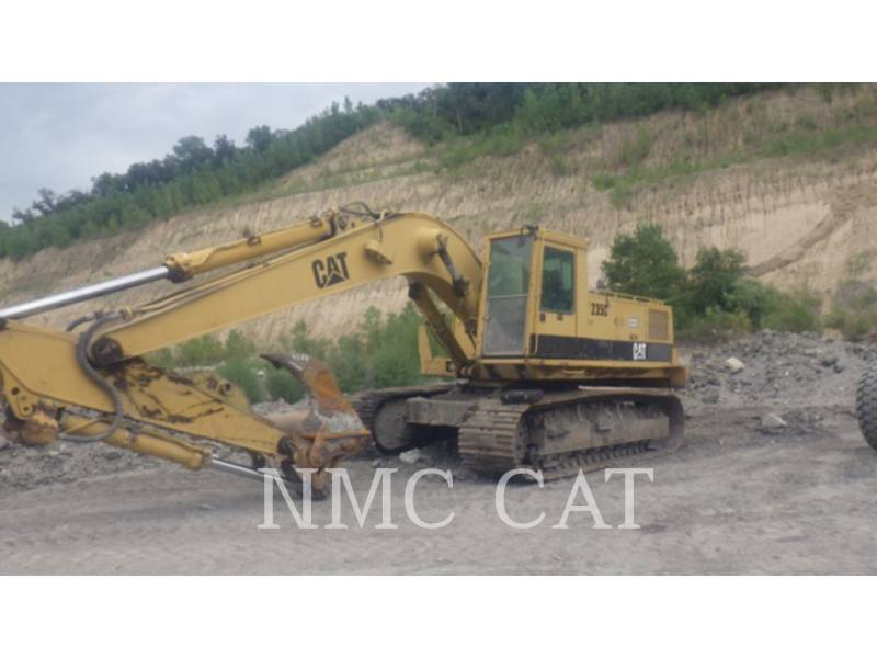 CATERPILLAR PELLES SUR CHAINES 235C equipment  photo 1