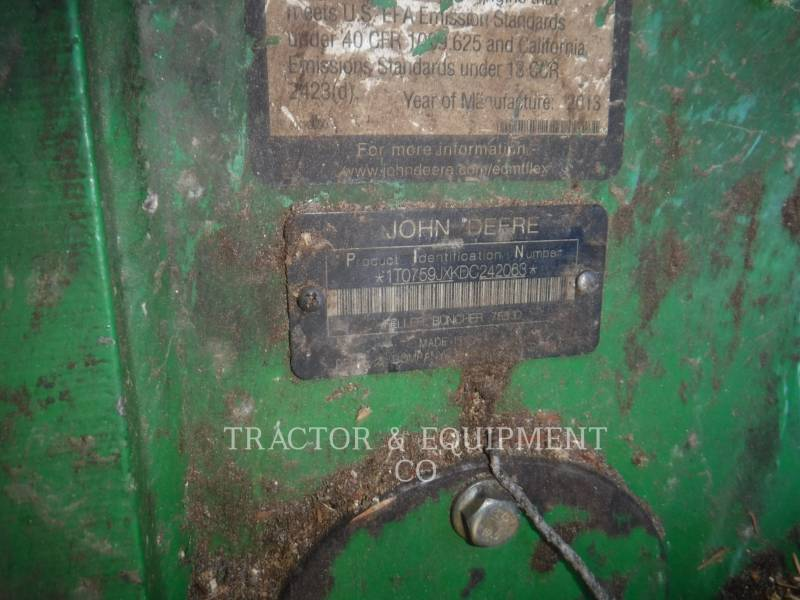 JOHN DEERE FOREST MACHINE 759J equipment  photo 4