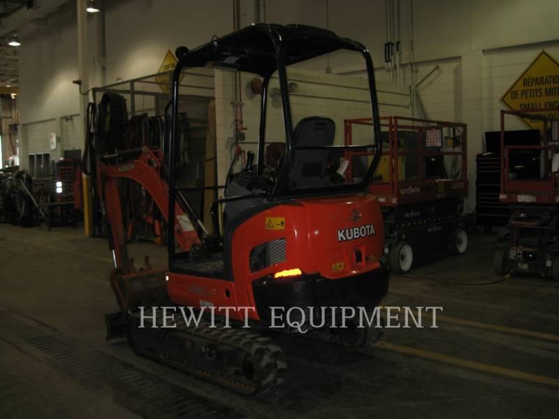 KUBOTA CANADA LTD. TRACK EXCAVATORS KX018 equipment  photo 1