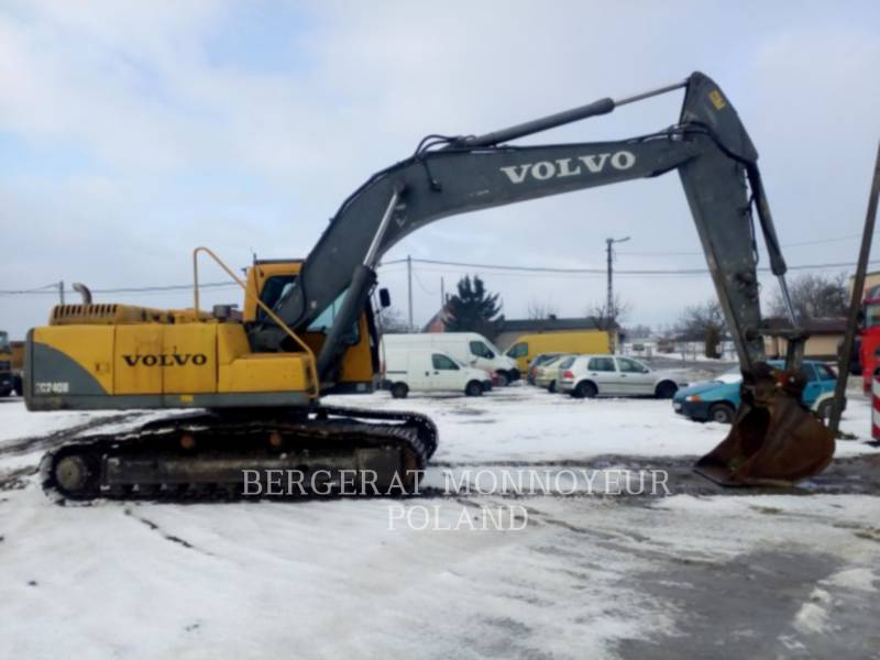 VOLVO KETTEN-HYDRAULIKBAGGER EC240B NLC equipment  photo 1