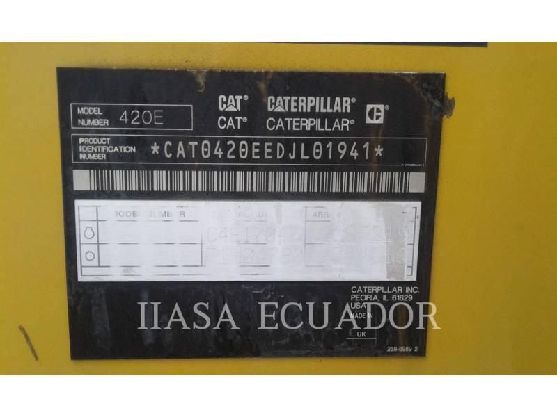 CATERPILLAR BAGGERLADER 420EST equipment  photo 3