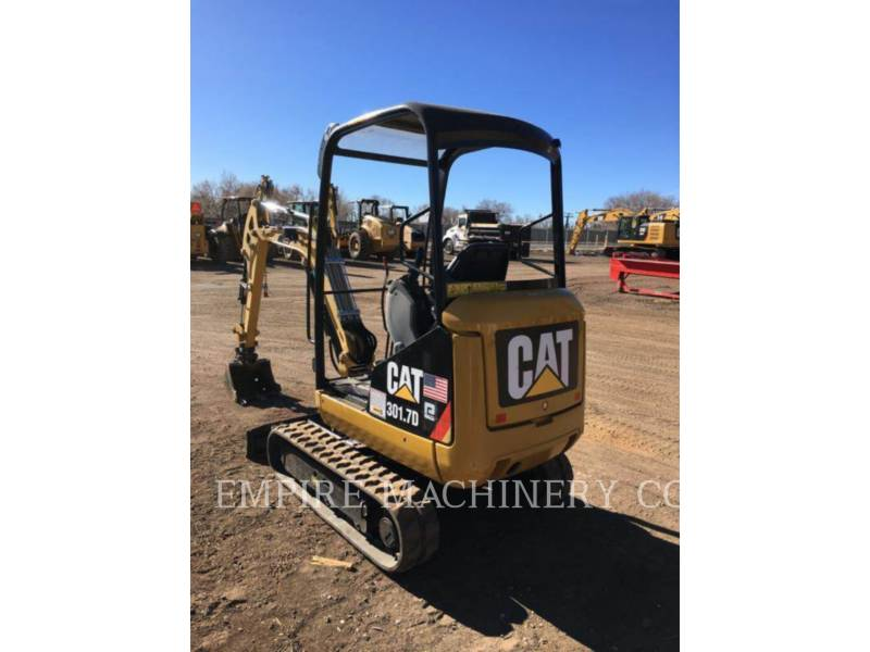 CATERPILLAR KETTEN-HYDRAULIKBAGGER 301.7D OR equipment  photo 1