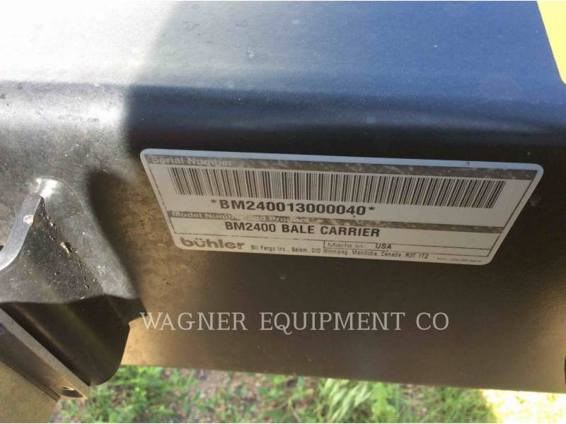 MISCELLANEOUS MFGRS AG HAY EQUIPMENT 2400 equipment  photo 18