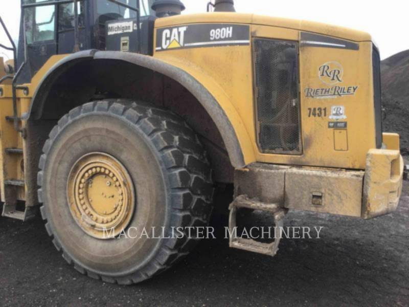 Caterpillar ÎNCĂRCĂTOARE PE ROŢI/PORTSCULE INTEGRATE 980H equipment  photo 10