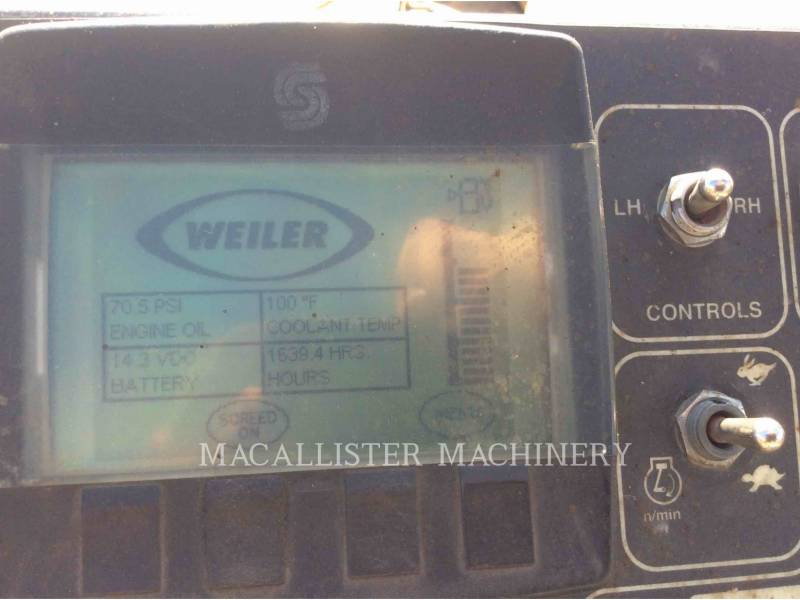 WEILER BETONIERE DE ASFALT P385 equipment  photo 10