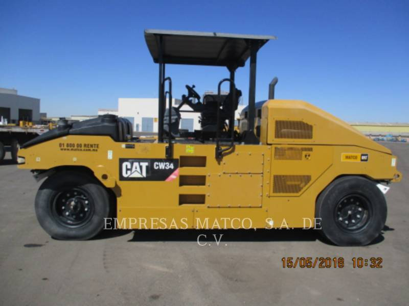 CATERPILLAR PNEUMATIC TIRED COMPACTORS CW34LRC equipment  photo 2