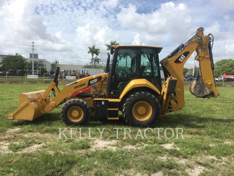 CATERPILLAR RETROESCAVADEIRAS 420F2ST equipment  photo 2