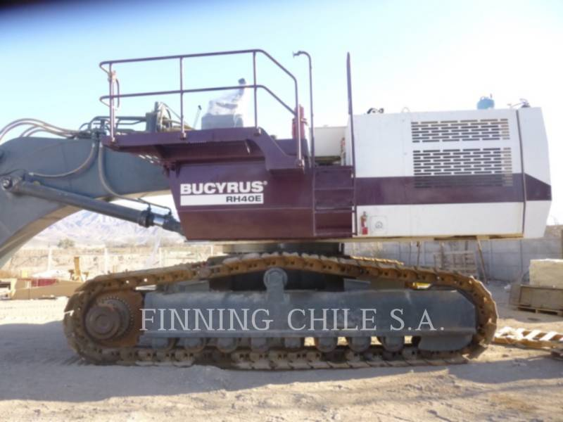 BUCYRUS-ERIE ESCAVADEIRA DE MINERAÇÃO/ESCAVADEIRA RH40E equipment  photo 1