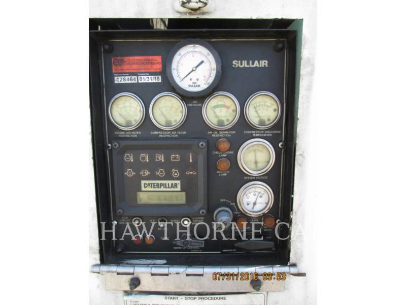 SULLAIR COMPRESSEUR A AIR 1600HF DTQ-CA3 equipment  photo 6