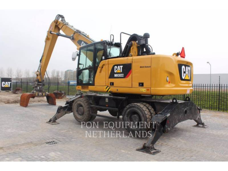 CATERPILLAR EXCAVADORAS DE RUEDAS MH3022 equipment  photo 3
