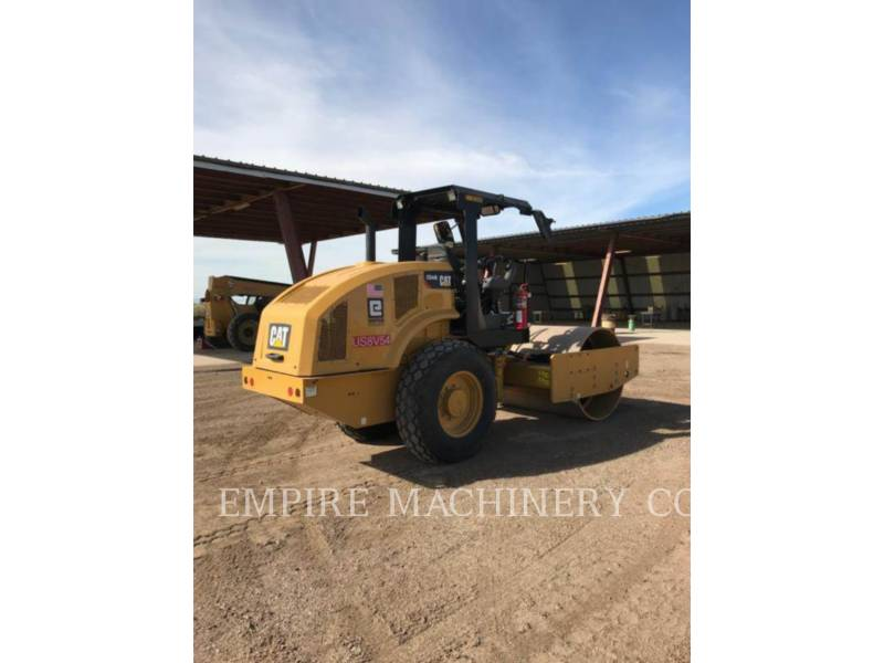 CATERPILLAR TRILLENDE ENKELE TROMMEL GLAD CS44B equipment  photo 1