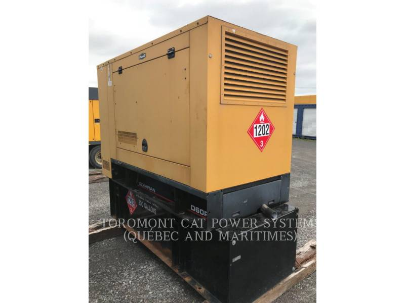 CATERPILLAR STATIONARY GENERATOR SETS D60P3_120_208 V equipment  photo 3