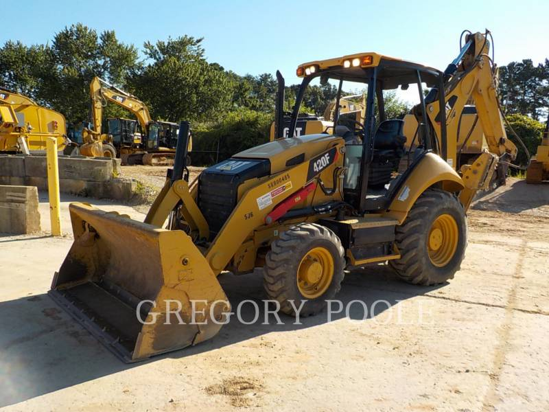 CATERPILLAR BACKHOE LOADERS 420F/HAM equipment  photo 1