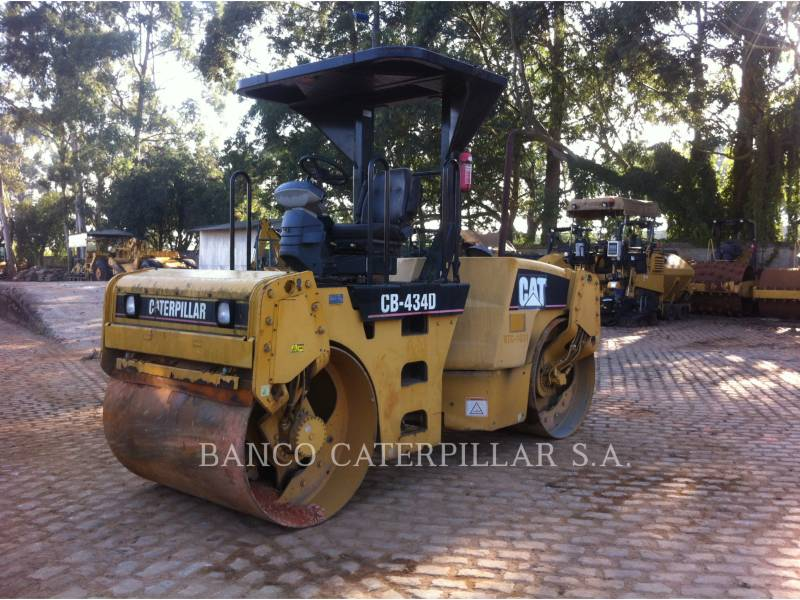 CATERPILLAR TAMBOR DOBLE VIBRATORIO ASFALTO CB-434D equipment  photo 3