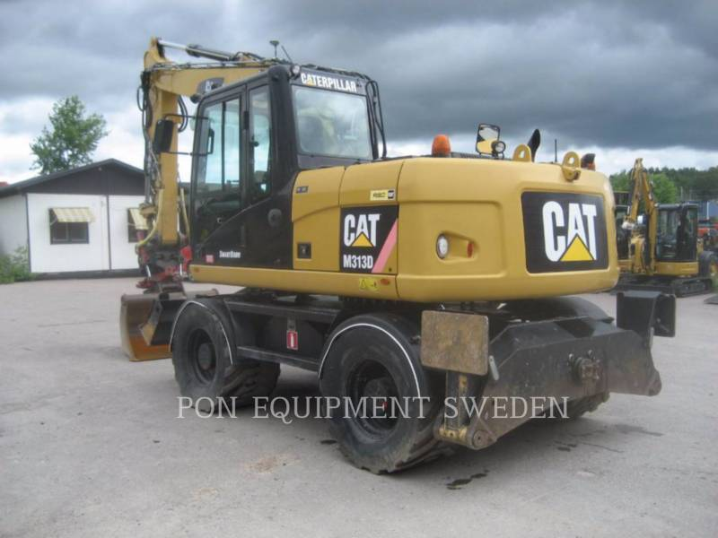 CATERPILLAR WHEEL EXCAVATORS M 313 D equipment  photo 5