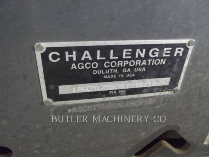 AGCO-CHALLENGER AG TRACTORS MT755B equipment  photo 10