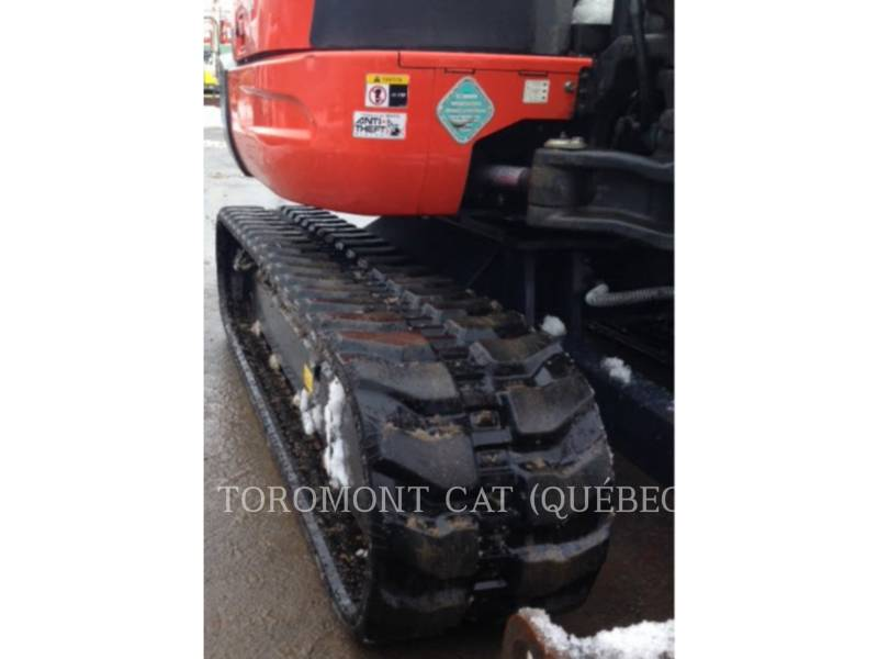KUBOTA CORPORATION PELLES SUR CHAINES KX040-4 equipment  photo 11