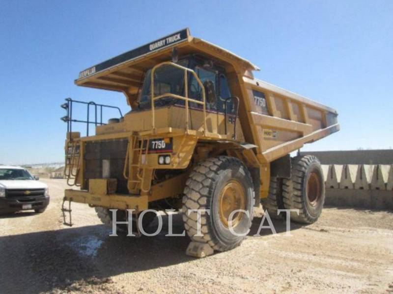 CATERPILLAR OFF HIGHWAY TRUCKS 775D equipment  photo 1