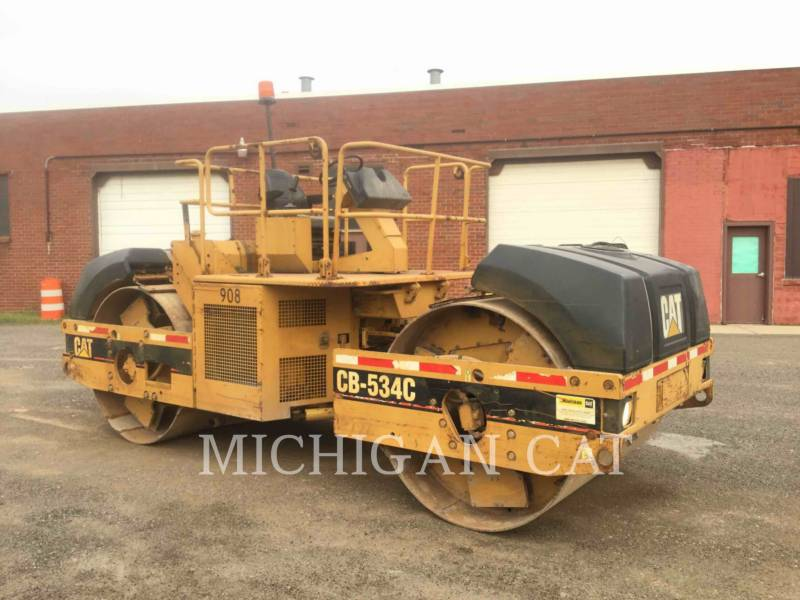 CATERPILLAR TAMBOR DOBLE VIBRATORIO ASFALTO CB-534C equipment  photo 4