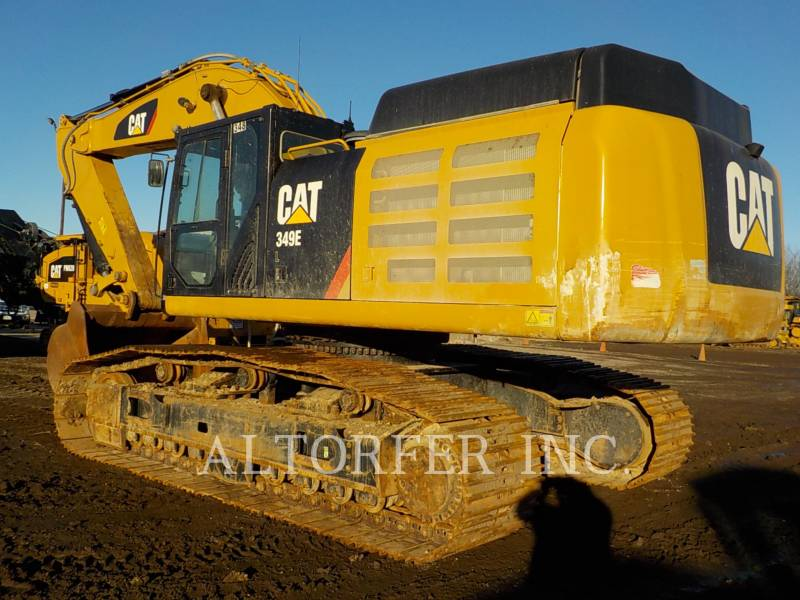 CATERPILLAR KETTEN-HYDRAULIKBAGGER 349ELVG equipment  photo 3