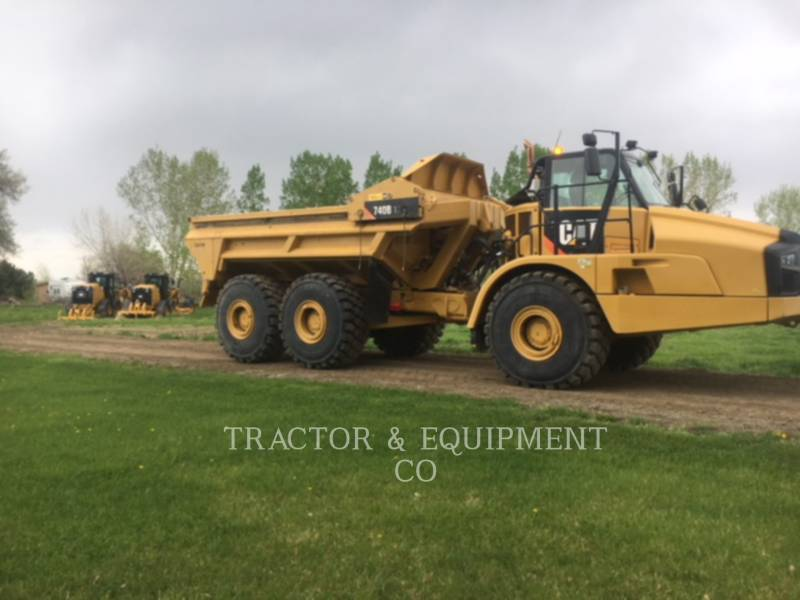 Caterpillar CAMIOANE ARTICULATE 740BEJ equipment  photo 8