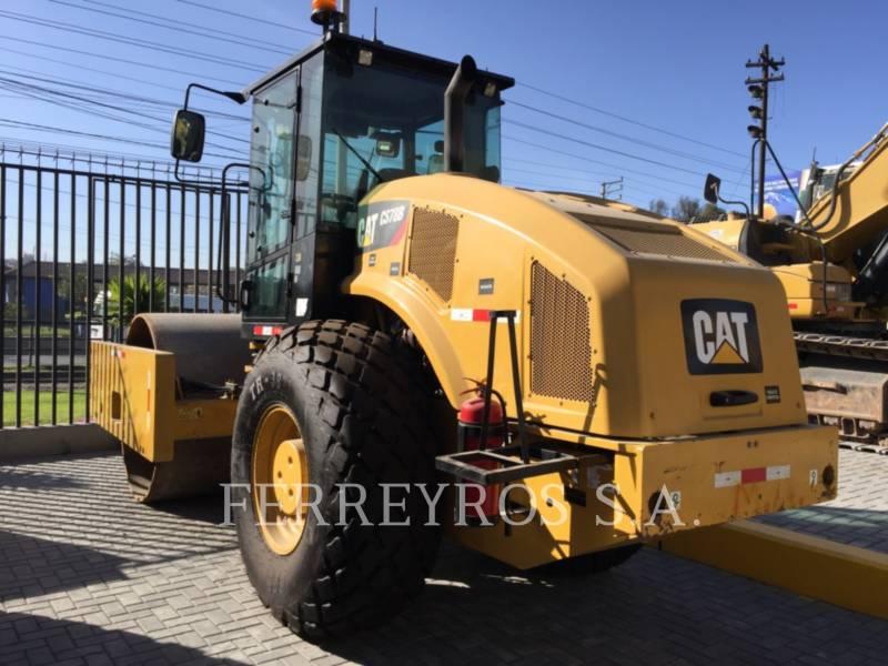 CATERPILLAR COMPATTATORE A SINGOLO TAMBURO VIBRANTE LISCIO CS78B equipment  photo 4