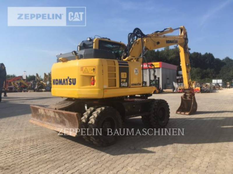 KOMATSU LTD. PELLES SUR PNEUS PW148-8 equipment  photo 4