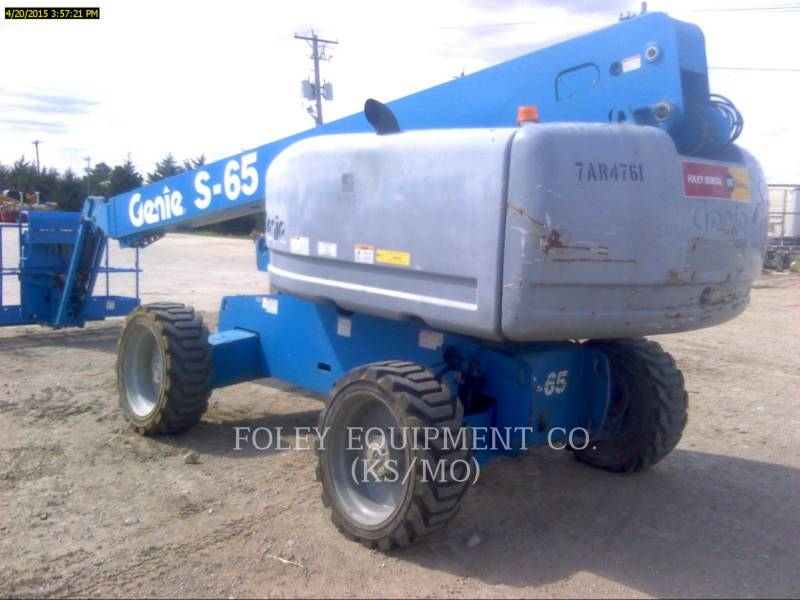 GENIE INDUSTRIES LIFT - BOOM S-65 equipment  photo 3