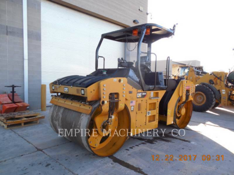 CATERPILLAR TANDEMOWY WALEC WIBRACYJNY DO ASFALTU (STAL-STAL) CB54B equipment  photo 4