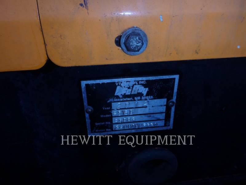 LEE-BOY ASPHALT PAVERS 8515B equipment  photo 9