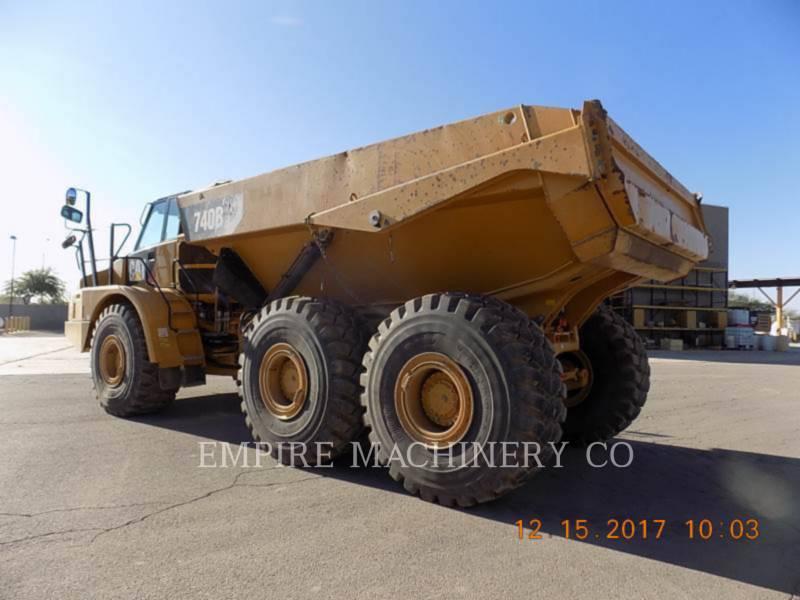 CATERPILLAR TOMBEREAUX DE CHANTIER 740B TG equipment  photo 3