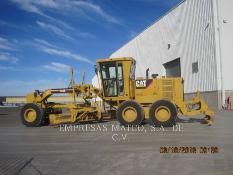 CATERPILLAR MOTONIVELADORAS 140 K equipment  photo 1