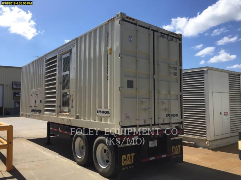 CATERPILLAR PORTABLE GENERATOR SETS (OBS) XQ1000APS equipment  photo 2