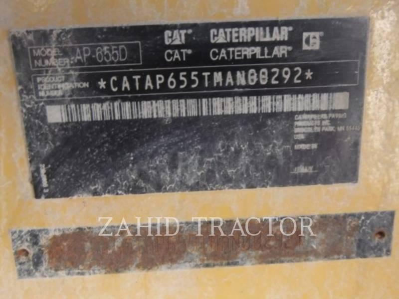 CATERPILLAR ASPHALT PAVERS AP 655 D equipment  photo 6