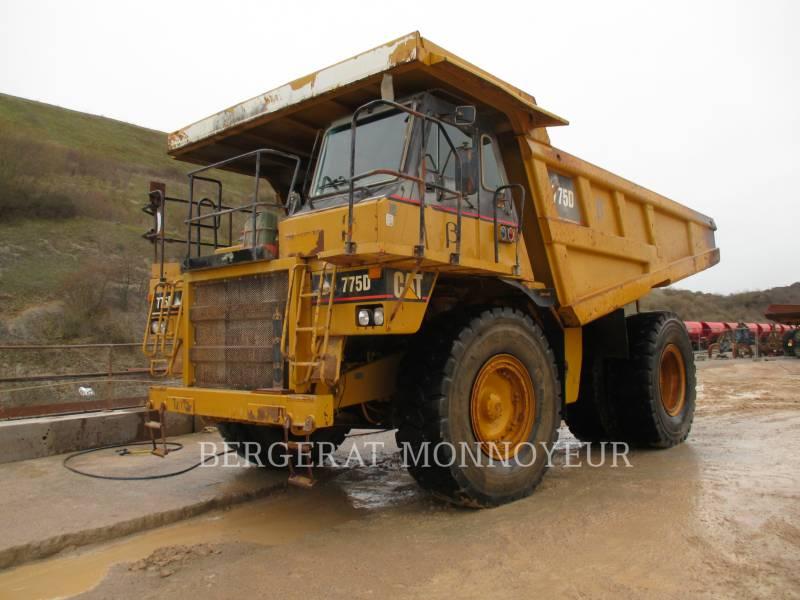 CATERPILLAR ダンプ・トラック 775D equipment  photo 2