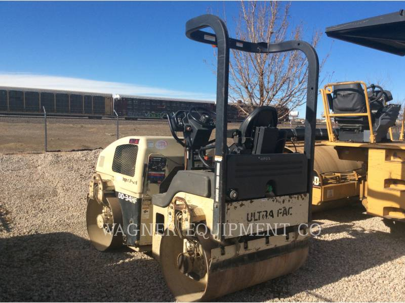 INGERSOLL-RAND COMPACTEURS DD34 HF equipment  photo 2