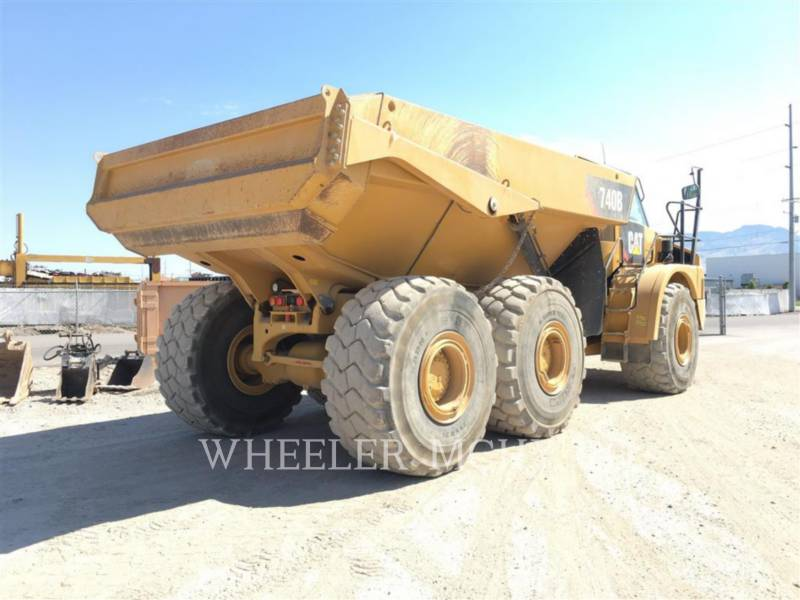 CATERPILLAR ARTICULATED TRUCKS 740B TG equipment  photo 6